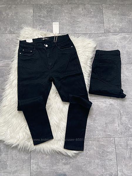 Чорні джинси великі розміри 30-38
