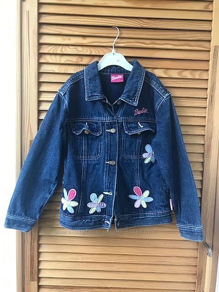 Джинсовая куртка Barbie