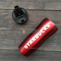 Термокружка Starbucks красная 355мл. Новая колекция. Оригнал