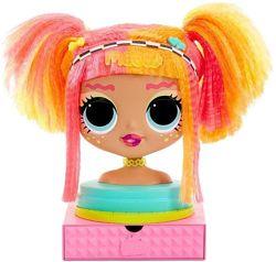 Кукла-манекен LOL Surprise серии OMG - Леди Неон Лол Styling Head Neonlicio
