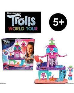 Игровой набор Hasbro Trolls DreamWorks World Tour Blooming Pod Stage Цветущ