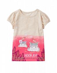 Красивые футболочки Джимбори для девочки на 4-5лет