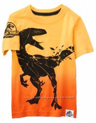 Стильные футболки Джимбори для мальчика 5т  маломерят на 104-110