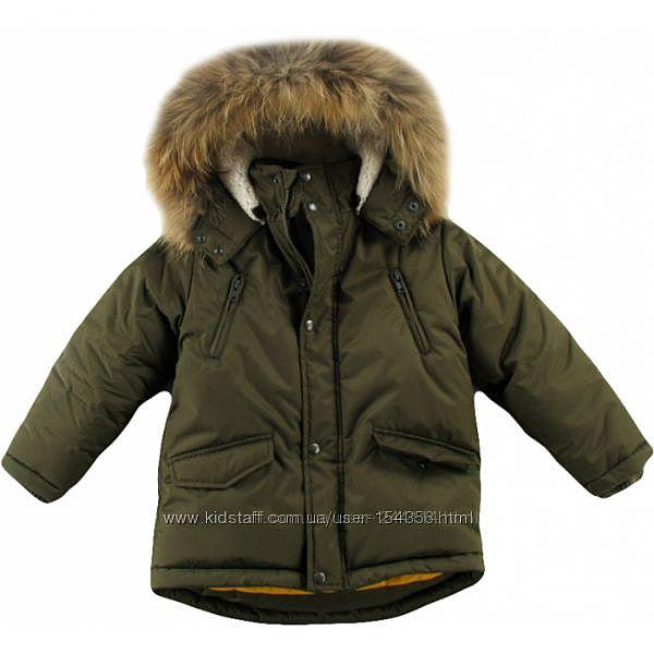 Новая зимняя куртка Войчик для мальчика 122 р. По распродажной цене