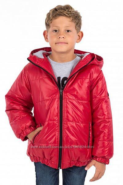 Зимняя куртка войчик на изософте 128р. По распродажной цене