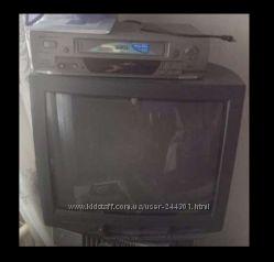 телевизор Philips 21pt166b60s Видеомагнитофон
