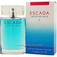 Escada Into The Blue парфюмированная вода 75 ml. Эскада Инто Зе Блю
