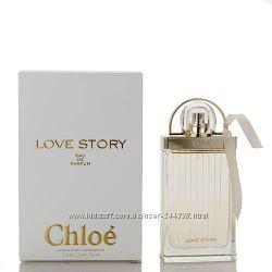 Chloe Love Story парфюмированная вода 75 ml. Хлое Лав Стори