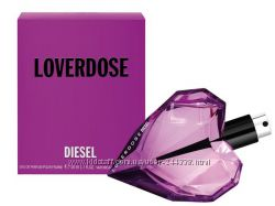 Diesel Loverdose парфюмированная вода 75 ml. Дизель Ловердоз