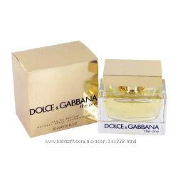 Dolce & Gabbana The One парфюмированная вода 75 ml. Дольче Габбана Зе Уан