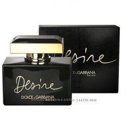 Dolce & Gabbana The One Desire парфюмированная вода 75 ml.