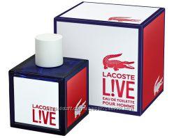 Lacoste Live Pour Homme туалетная вода 100 ml. Лакост Лив Пур Хом