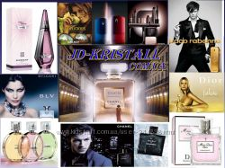 Парфюмерия из Франции Versace, Givenchy, Chanel, Dolce & Gabbana, Escada