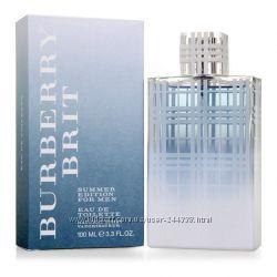 Burberry Brit Summer for Men туалетная вода 100 ml. Барбери Брит Саммер Фо