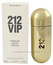 Тестер Carolina Herrera 212 VIP for Women парфюмированная вода 80 ml.