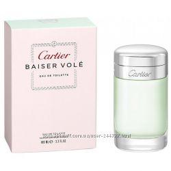 Cartier Baiser Vole туалетная вода 100 ml. Картье Поцелуй Полевка