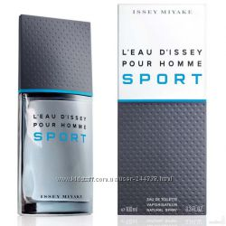 Issey Miyake Leau Dissey pour Homme Sport туалетная вода 125 ml. Иссей