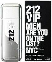 Carolina Herrera 212 VIP Men туалетная вода 100 ml. Оригинал с доставкой.