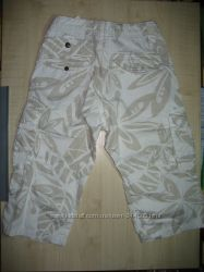продам бриджи шорты H&MШвеция, рост 140 хлопок 6 карманов