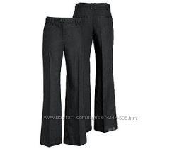 Продам брюки лен с поясом H&M, черные и белые, р 34, 36, 38, 40