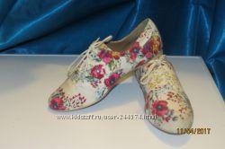 тканевые туфли, 23см