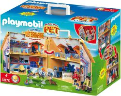 очень редкий набор ветеринарная клиника от Playmobil 5870