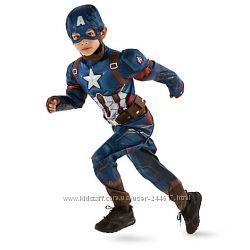 Костюм Captain America Дисней 9-10 оригинал