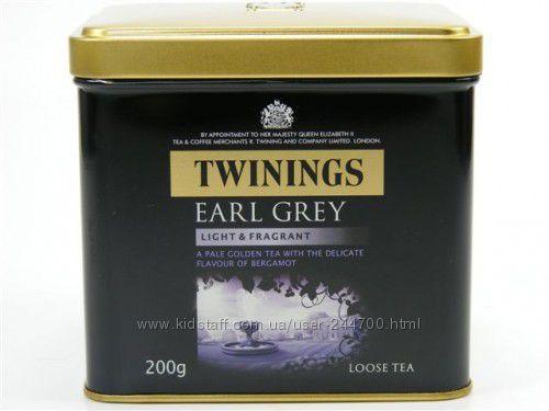 Чай Twinings Earl Grey 200гр