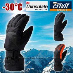 Лыжные мужские перчатки Thinsulate Crivit Германия