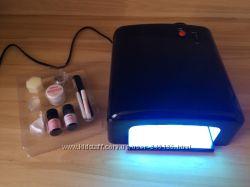 УФ Лампа Lux Style 36 Вт Норвегиянабор для нарщивания гель ногтей