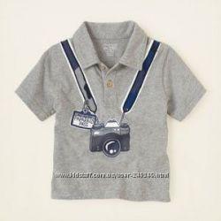 Рубашки, регланы, футболки для мальчиков, Америка
