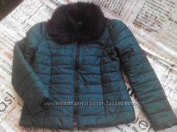 Демисезонная куртка с отстёгивающимся воротником, М