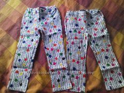 Летние штаны H&M, бриджи Childrensplace для девочек 5-8 лет