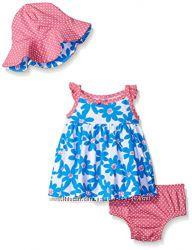 Комплекты-тройки с сарафанами Gerber для малышек 12-24 месяца