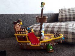 Большой корабль пиратов Нетландии, бу