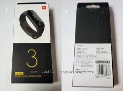 Фитнес-браслет Xiaomi Mi Band 3, русский язык, оригинал, новый