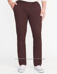 Прямые брюки хаки OLD NAVY - 30W34L