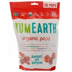 YumEarth, Органические леденцы, в ассортименте, 50шт