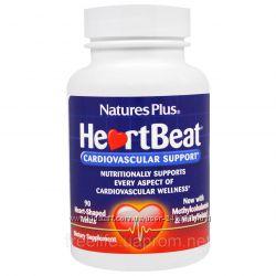 Nature&acutes Plus, Сердцебиение, Поддержка Сердечно-сосудистой системы, 90шт