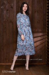 Летящее платье от  Нив Нив р. 46