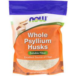 Now Foods, Клетчатка  Цельная оболочка семян подорожника,454 г  подорожник