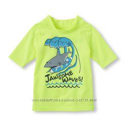 солнцезащитная футболка, для пляжа