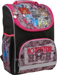 Удобный и практичный ранец школьный каркасный Monster High 1-4 класс 701