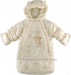 Зимний конверт из плащевки на овчине с капюшоном, чудесный декор ТМ Ляля