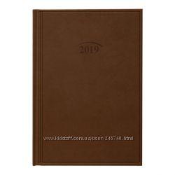 Ежедневник датированный 2019 Стандарт Brunnen Torino коричневый
