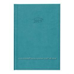 Ежедневник датированный 2019 Стандарт Brunnen Torino бирюзовый