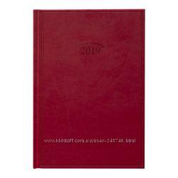 Ежедневник датированный 2019 Стандарт Brunnen Torino красный