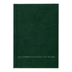 Ежедневник датированный 2019 Стандарт Brunnen Torino зеленый