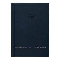 Ежедневник датированный 2019 Стандарт Brunnen Torino темно-синий