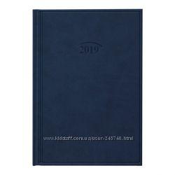 Ежедневник датированный 2019 Стандарт Brunnen Torino синий